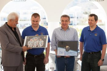 Crete Welcomes Russian Cosmonauts – Honors Yuri Gagarin