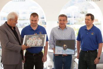 Crete Welcomes Russian Cosmonauts – Honors Yuri Gagarin