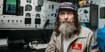 Fyodor Konyukhov on the balloon MORTON