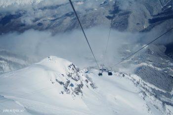 Rosa Khutor ski lifts via Skiing in Caucasus
