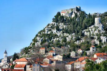 Vrgorac, Croatia in Dalmatia