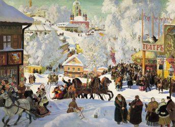 Maslenitsa Moscow