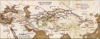 The Silk Road of antiquity