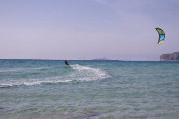 Falasarna kiteboarding