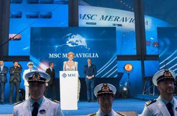 03 June 2017 MSC Meraviglia Christening