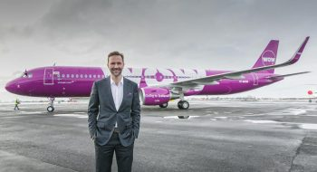 kúli Mogensen, the founder and CEO of WOW air