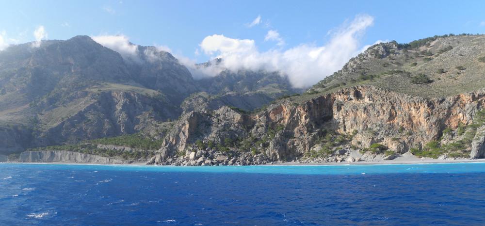 Coast near Agia Roumeli