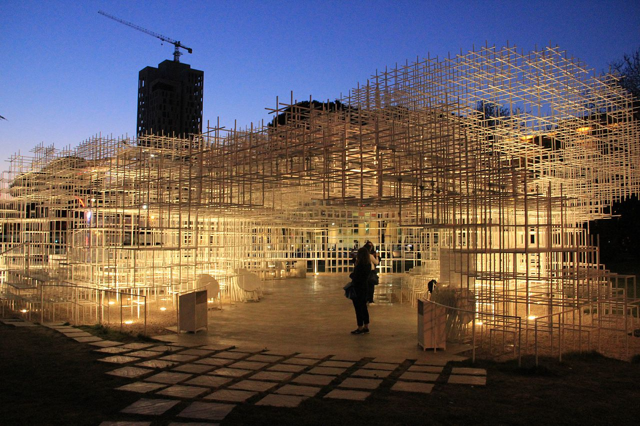 Art Galleries in Tirana: the Cloud Pavilion at the National Art Gallery