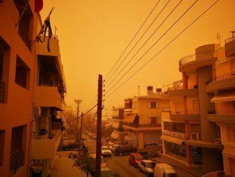 Breaking News: Sandstorm on Crete – in Images