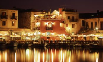 Rethymno after dark