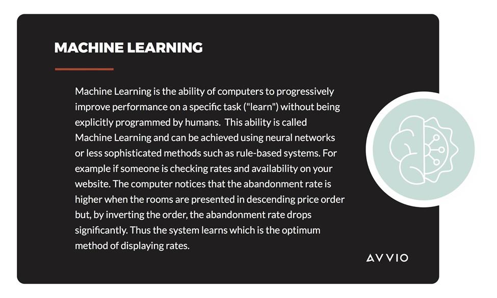 Avvio machine learning