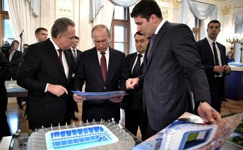 Russia's Putin Amends Tourism Laws Ahead of World Cup