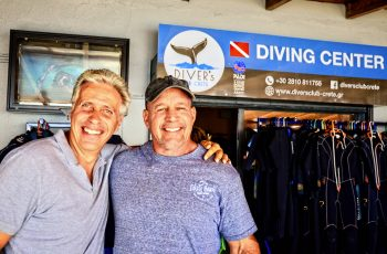 Diver's Club Crete: An American in Paradise Part I