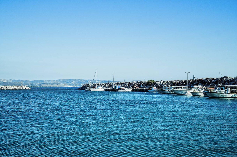 Kokkinos Pyrgos harbor