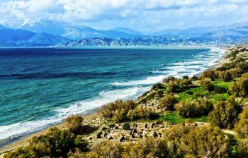 Kommos Beach Crete
