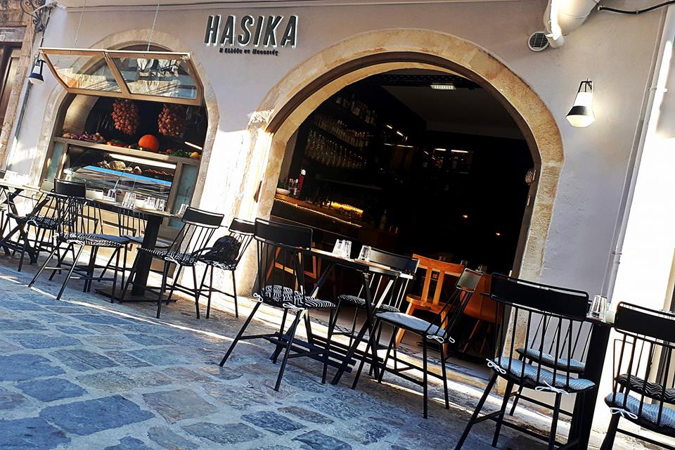 Hasika Restaurant in Rethymno