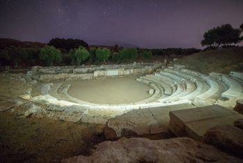 Ancient Theatre of Aptera Welcomes Audeinces Again