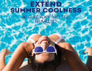 Beat the Summer Heat at Galaxy Hotel Iraklio