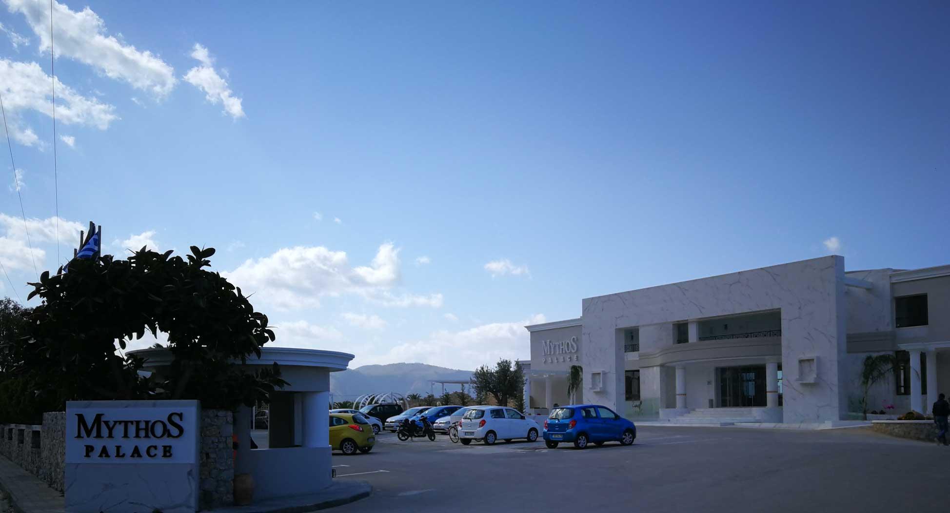 Mythos Palace Resort & Spa - entrance.
