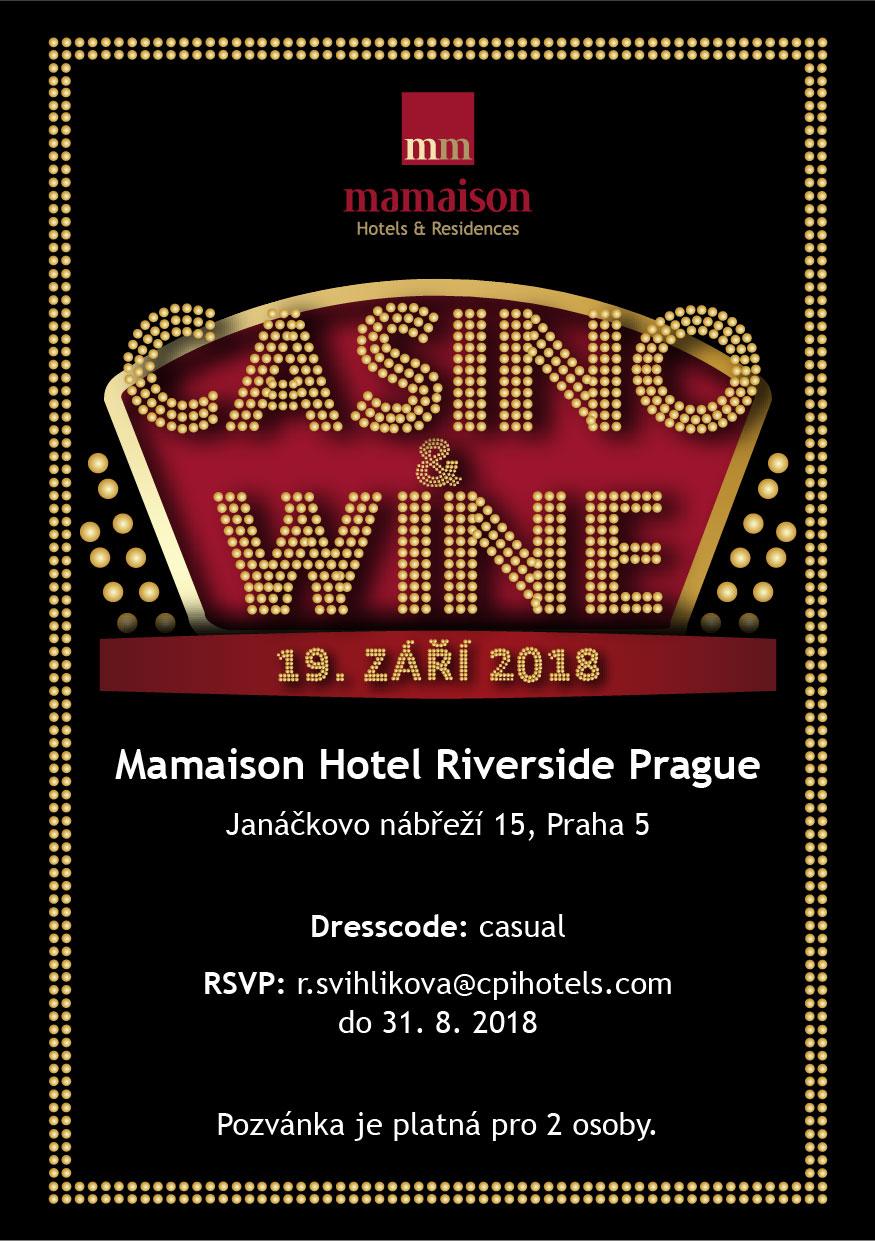 Casino & Wine 2018 poster.