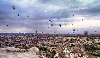 Balloons over Cappadocia Turkey CC