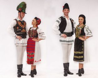 An Exhibition of Traditional Costumes from Romania-Cyprus