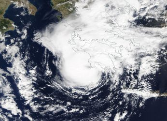 Cyclone Zorba Batters Much of Greece Headed to Turkey