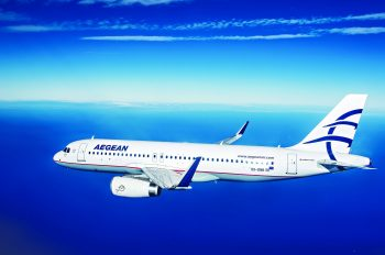 AEGEAN Voted World's 5th Best International Airlines