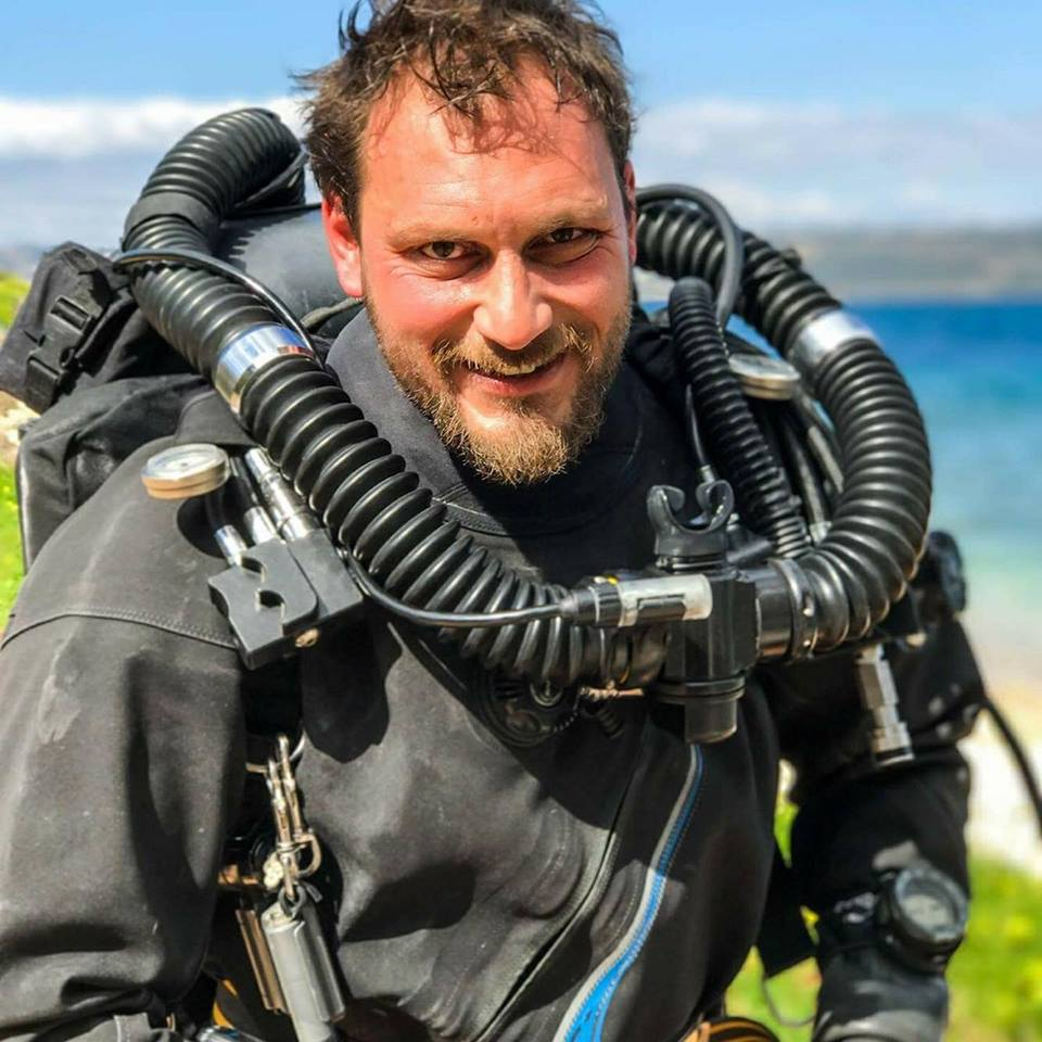 Nikolas Giannoulakis of Chania Dive Center