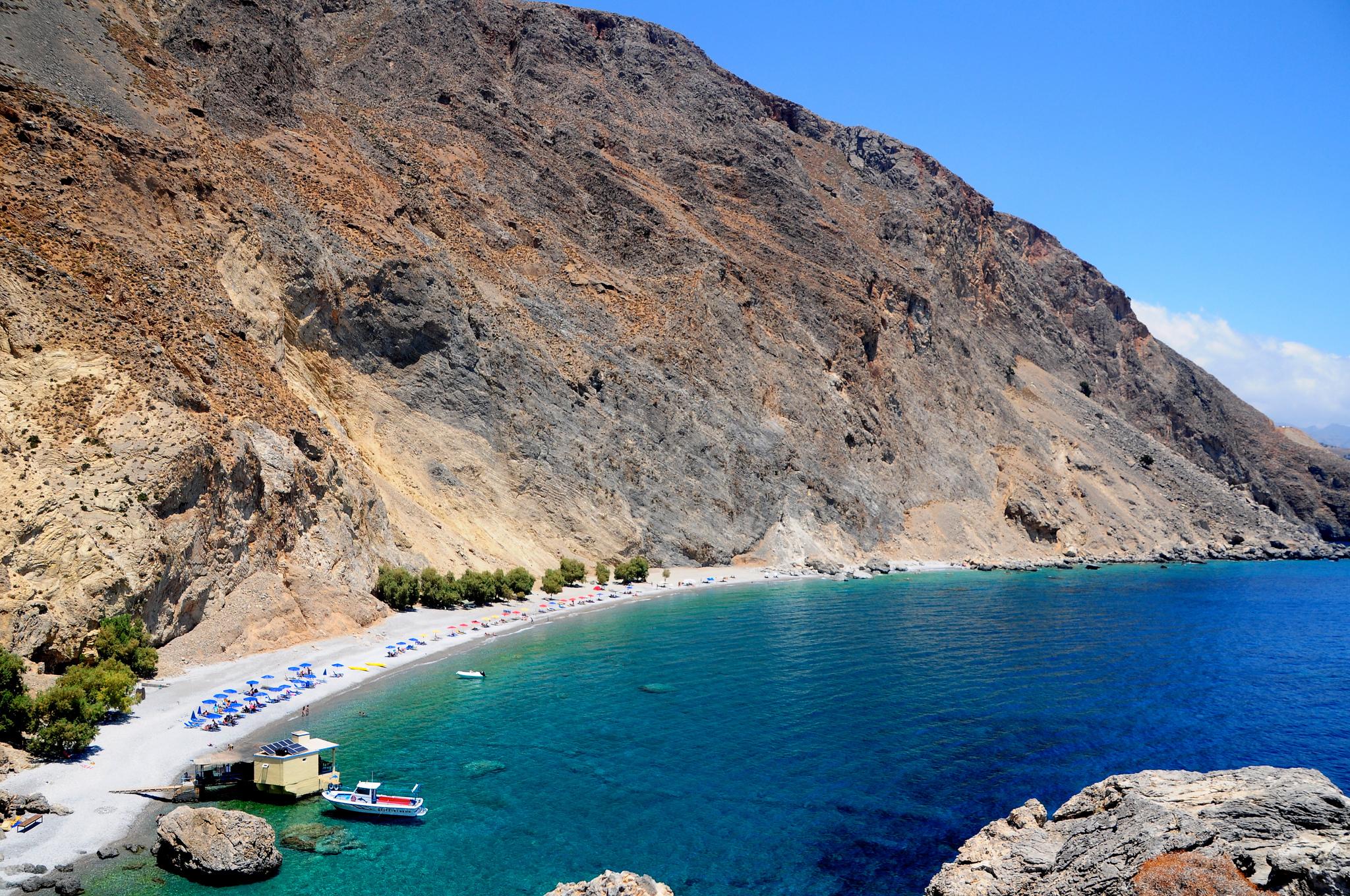Glyka Nera Beach - Courtesy Panegyrics of Granovetter