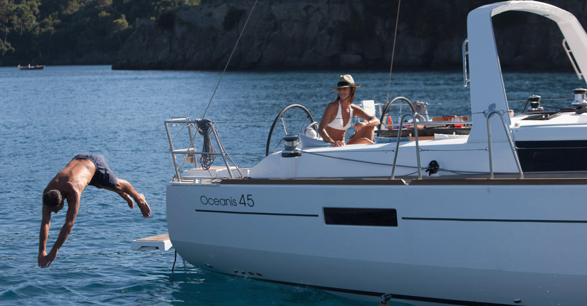 The Oceanis 45 - Courtesy - Beneteau Yachts