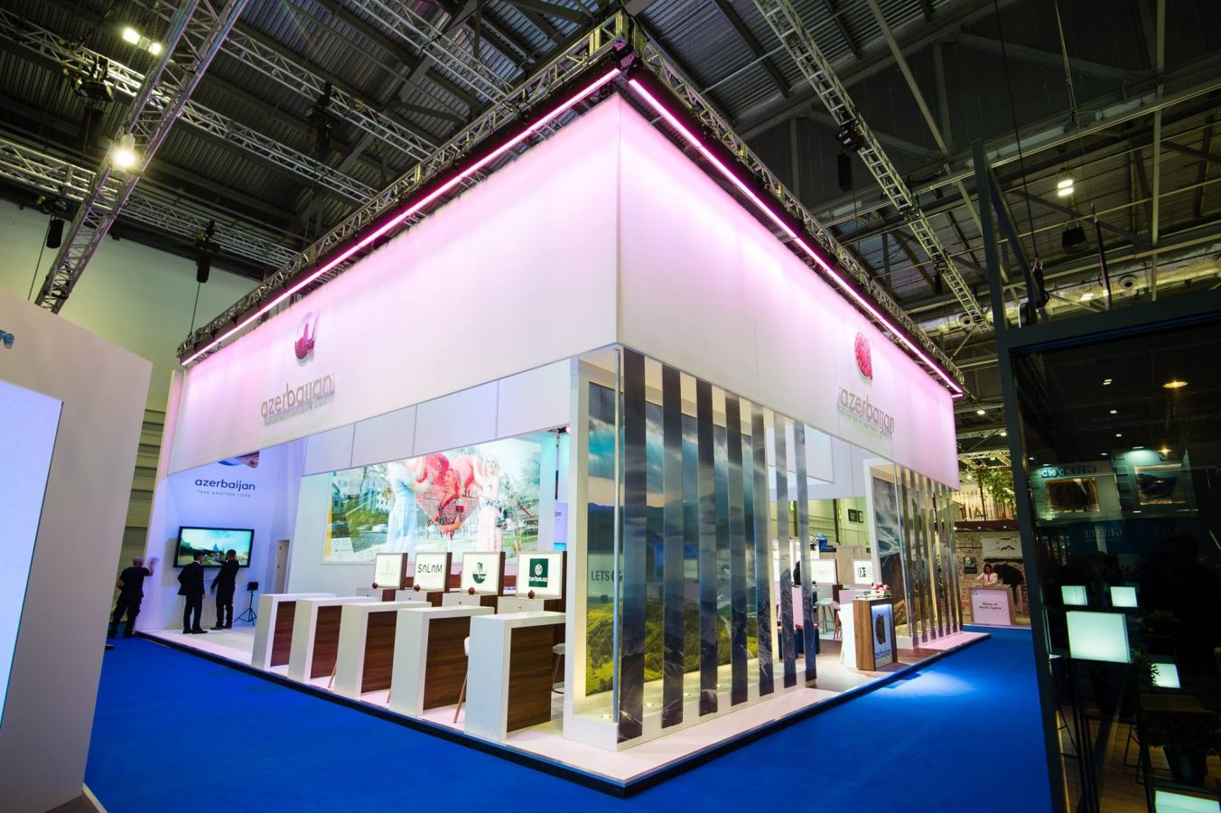 Marketing Exhibition Stand Years : Azerbaijan asks travelers to quot take another look at wtm