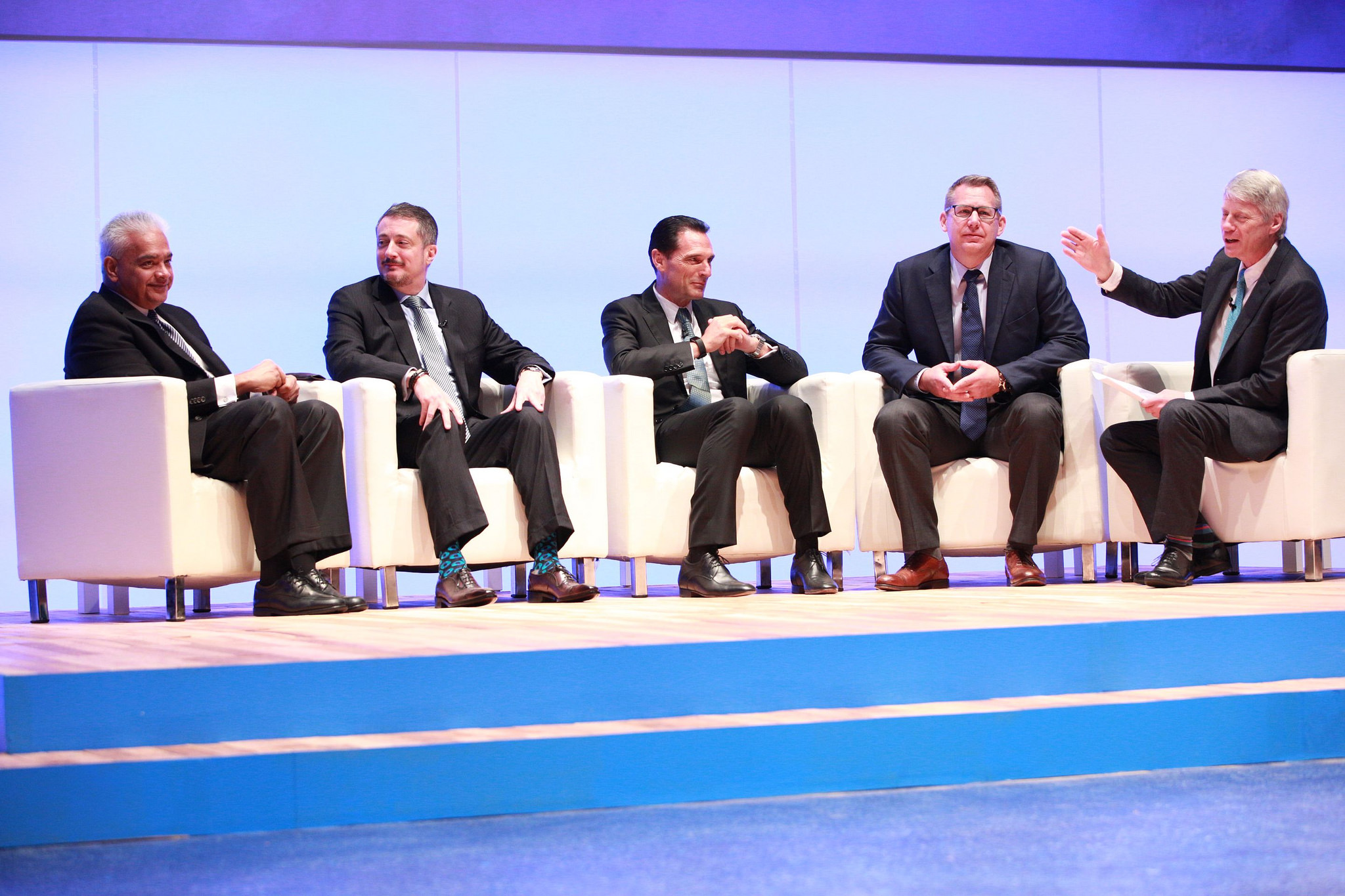 Rakesh Sarna, Managing Director & CEO, Indian Hotels Company LTD; Jeffrey C Rutledge, Chief Executive Officer, AIG Travel; Peter Fankhauser, Group CEO, Thomas Cook Group; Robert A. Jensen, CEO, Kenyon International Emergency Services; Nick Ross, Moderator - WTTC