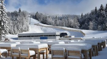 The Kolašin 1600 Ski Resort Gets Its First Snows of the Season