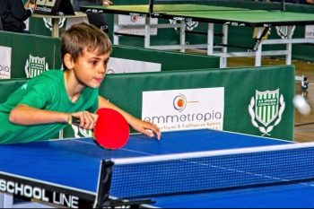 Crete's Archanes Village Holds 1st Annual Table Tennis Competition