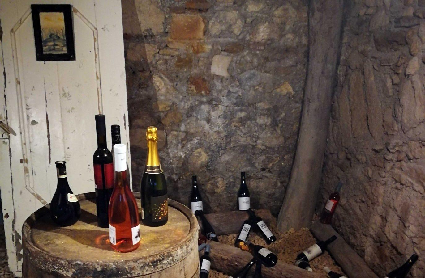 Hairi cellar.