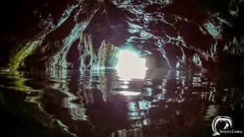 The sea cave of Agios Gordios