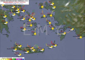 Crete weather