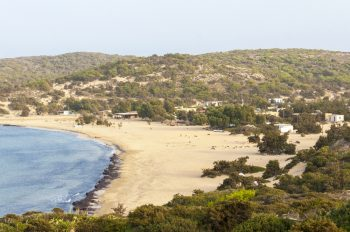 Sarakiniko Beach on Gavdos