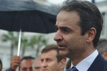 Greece Prime Minister Kyriakos Mitsotakis