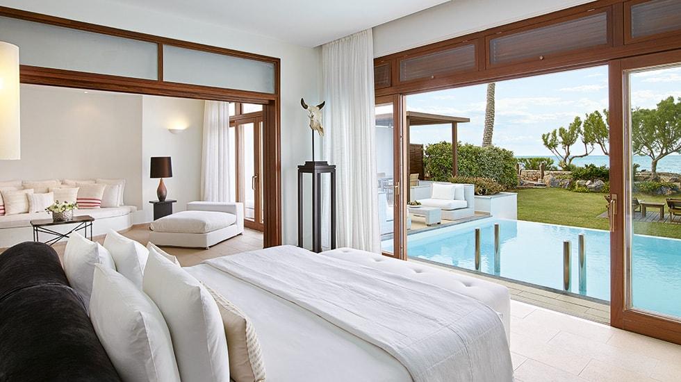 The Presidential Villa Seafront at Amirandes  Resort