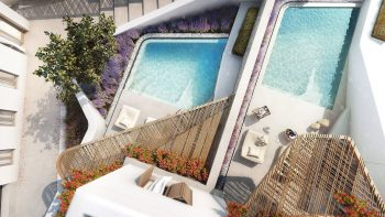 Aegon Mykonos private pools