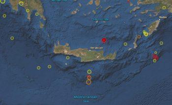 Crete seismicity