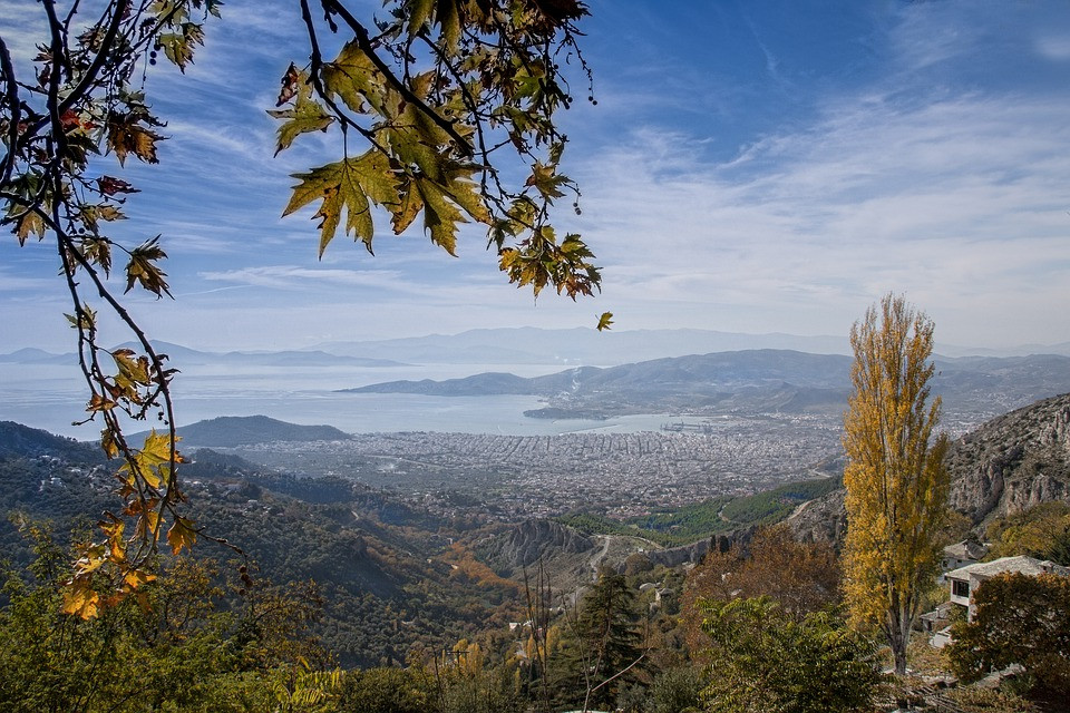 Volos Pelion nature is remarkable