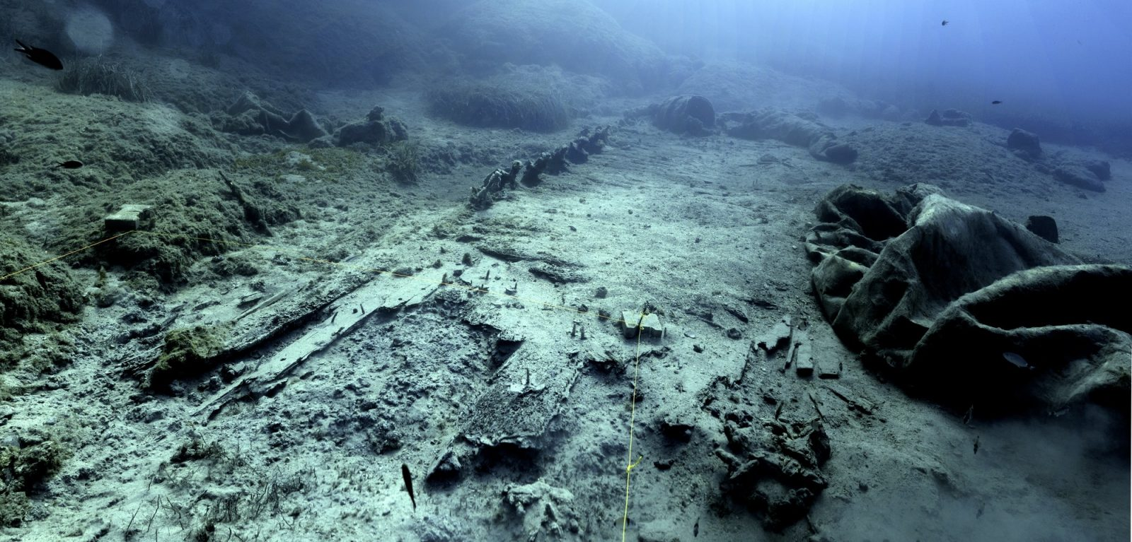 The wreck of the Mentor - Ministry of Culture and Sports