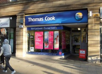Thomas Cook storefront