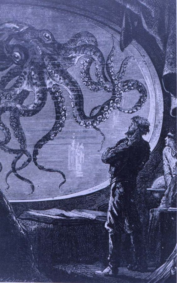 Captain Nemo from 20,000 Leagues Under the Sea, by Jules Verne