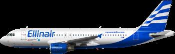 Ellinair Airbus A - 320