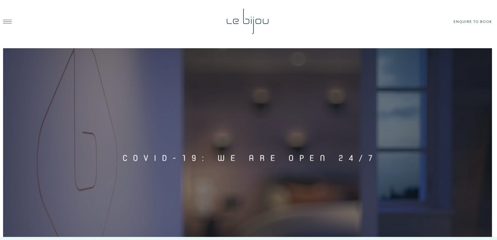 Le Bijou website