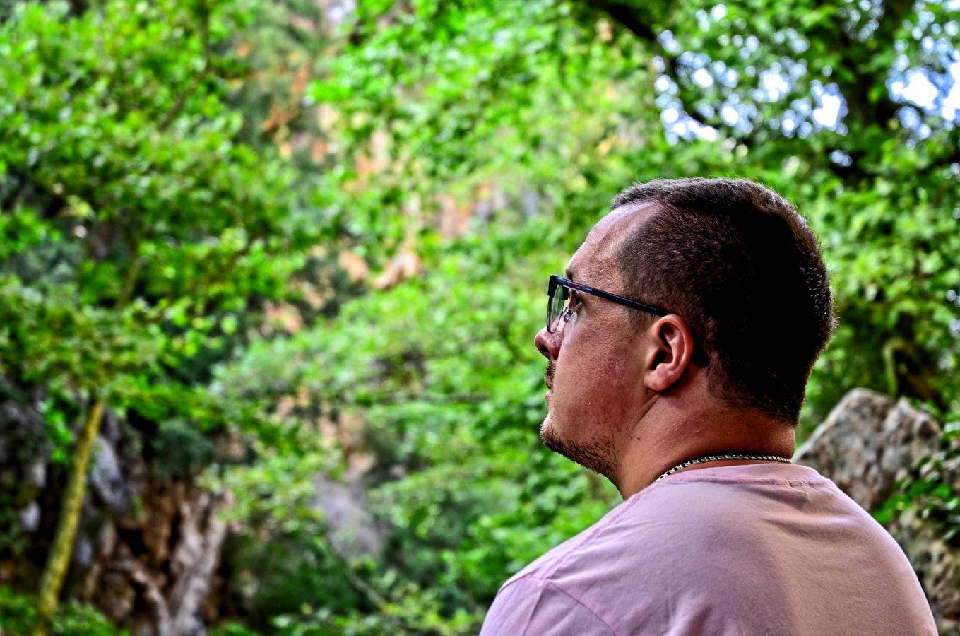 Evgeny at Patsos Gorge